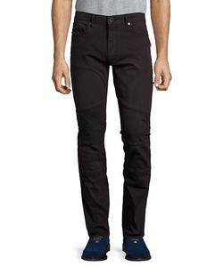 Calvin Klein Jeans | Straight-Leg Moto Jeans