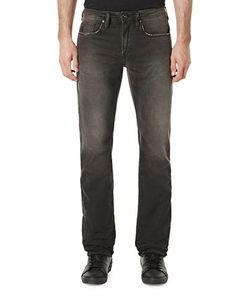 BUFFALO David Bitton | Six Slim-Straight Faded Jeans
