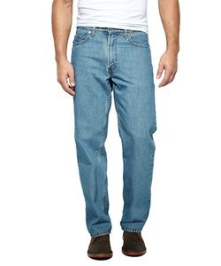 Levi's   550 Relaxed Fit Medium Stonewash Jeans