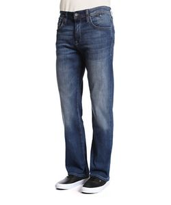 Mavi | Matt Relaxed Straight-Leg Jeans