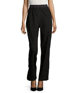 Dkny Pure | Straight-Leg Linen-Blend Pants