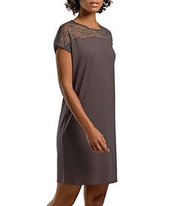 HANRO | Short-Sleeve Solid Nightgown
