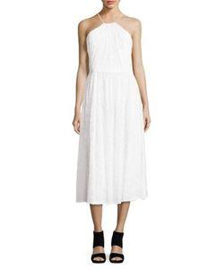 Vera Wang | Halter Lace Dress