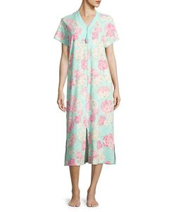 Miss Elaine | -Print Night Gown