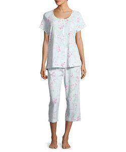 Miss Elaine | Printed Shirt Pajama