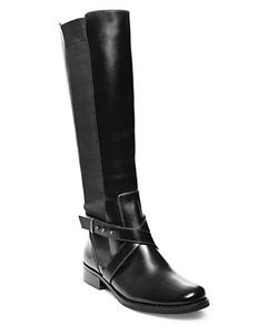 Steven by Steve Madden | Sydnee Wide Calf Leather Boots