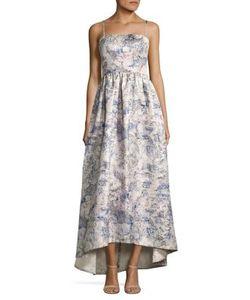 Vera Wang | Sleeveless Brocade Gown