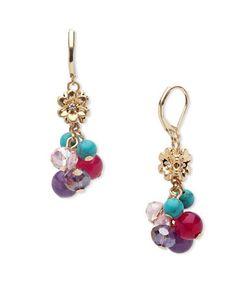 LONNA & LILLY | Semi-Precious Stone Drop Earrings