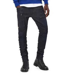 G-Star Raw | Cotton Blend Textu Jeans
