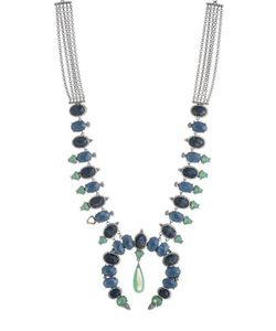 Jenny Packham   Stone Accented Statement Collar Necklace