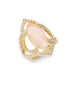 Kate Spade New York   Lantern Gems Openwork Quartz Ring