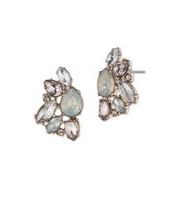 Marchesa | Opal Cluster Button Earrings