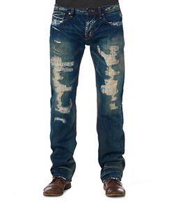 Cult Of Individuality | Hagen Relaxed Pepper Wash Jeans