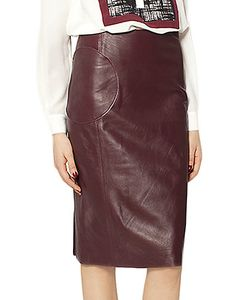 Raoul   Leather Bree Pencil Skirt