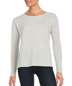 Lord & Taylor | Boxy Crewneck Cashmere Sweater