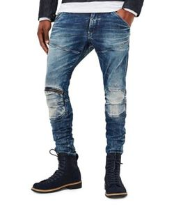 G-Star Raw | Kamden Super Slim 5620 3d Zip-Knee Jeans