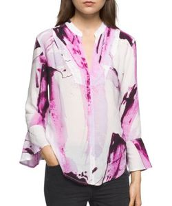 Calvin Klein Jeans | Printed Long-Sleeve Top