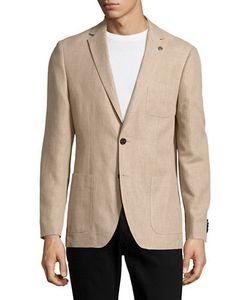Michael Kors | Cotton And Linen Blazer