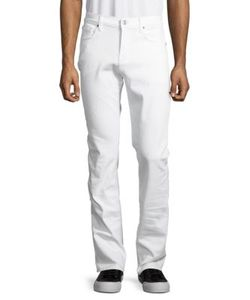 Seven for all Mankind | Slimmy Slim Solid Straight Jeans