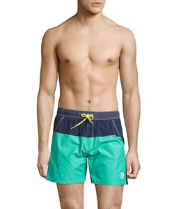 Diesel | Colorblocked Swim Shorts