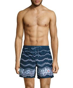 HUGO BOSS | Anemonefish Origami Drawstring Shorts