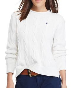Polo Ralph Lauren | Cable-Knit Cotton Sweater