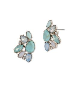 Marchesa | Cluster Button Earrings