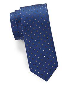 HUGO BOSS | Dotted Silk Tie