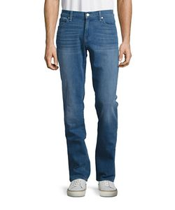 Seven for all Mankind | Mid-Rise Five-Pocket Jeans