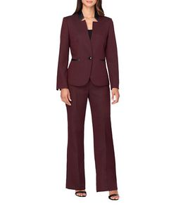 Tahari Arthur S. Levine | Starneck Jacket And Suit Set