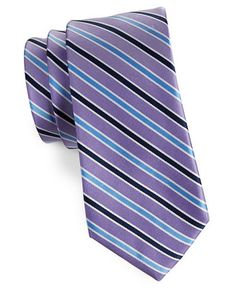 Lord & Taylor The Mens Shop | Striped Silk Tie
