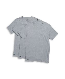 Lacoste | Slim-Fit Cotton V-Neck Tee/Set Of 3