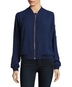 Michael Kors   Knit Bomber Jacket