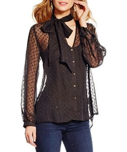 Jessica Simpson | Cerena Sheer Blouse