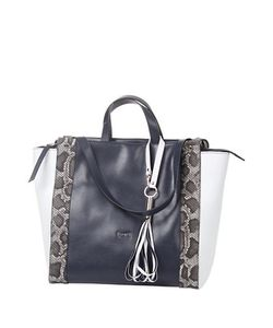 Laurel | Cipro Double Handle Leather Tote