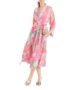 N Natori   Belted-Waist Robe