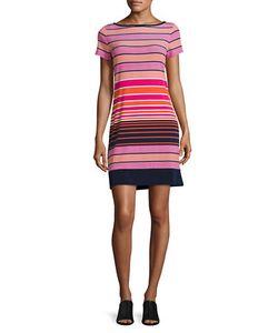 Michael Kors   Striped T-Shirt Dress