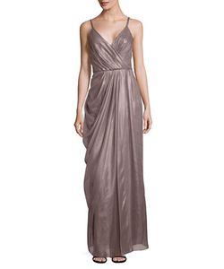 Vera Wang | Pleated Sleeveless Dress