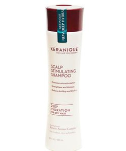 Keranique | Scalp Stimulating Deep Hydration Shampoo For Dry Hair 8 Oz.