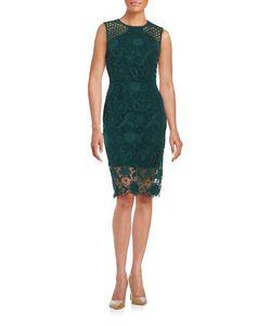 Vera Wang | Lace Sheath Dress