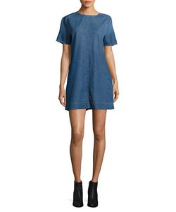 Calvin Klein Jeans | Frayed-Sleeves Cotton Dress