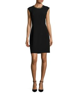 Calvin Klein | Chain-Accented Sheath Dress