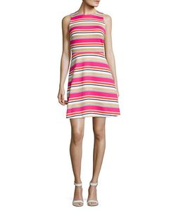 Michael Kors   Sleeveless Fit-And-Flare Dress
