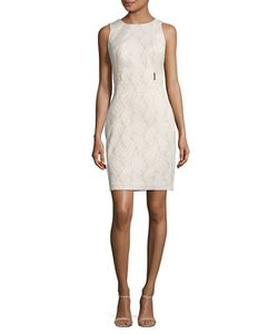 Calvin Klein | Embroidered Sheath Dress