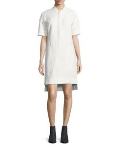 Dkny Pure | Solid Drop-Shoulder Dress