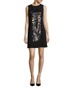 Vera Wang | Embellished Shift Dress