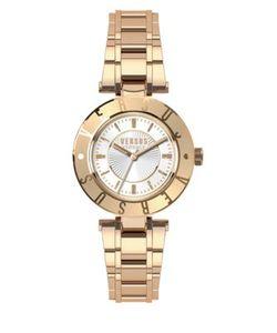 Versus | Logo Rose Goldtone Stainless Steel Bracelet Watch Sp8210015
