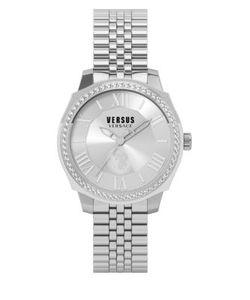 Versus | Chelsea Pave Stainless Steel Link Bracelet Watch Sov030015