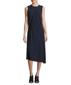 DKNY | Sleeveless Asymmetrical Dress