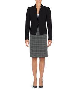 Tahari Arthur S. Levine | Contrast Skirt Suit Set